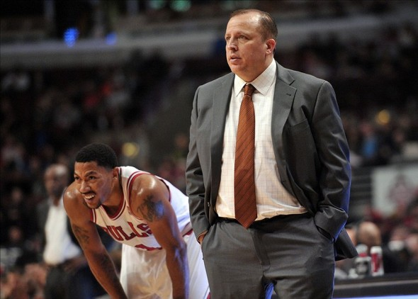 derrick rose, tom thibodeau