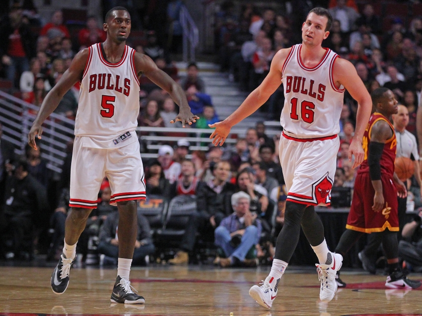 Bobby Portis and Paul Zipser, Chicago Bulls