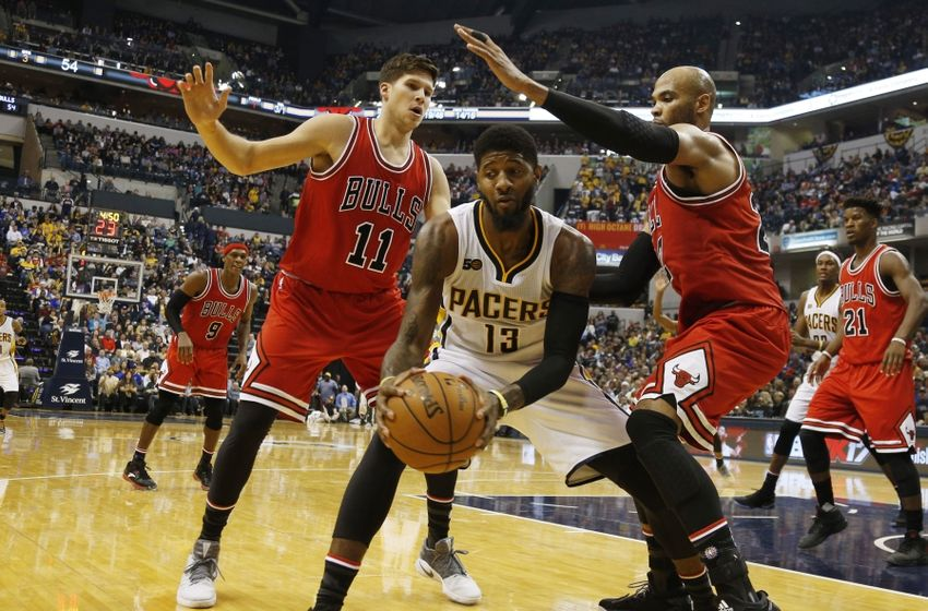 Doug McDermott and Taj Gibson, Chicago Bulls
