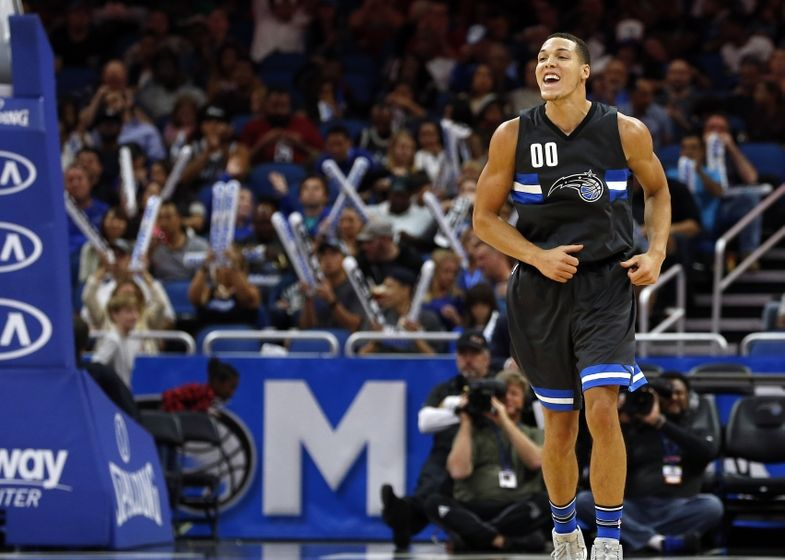 Aaron Gordon could put on a show with his leaping ability against the Chicago Bulls.