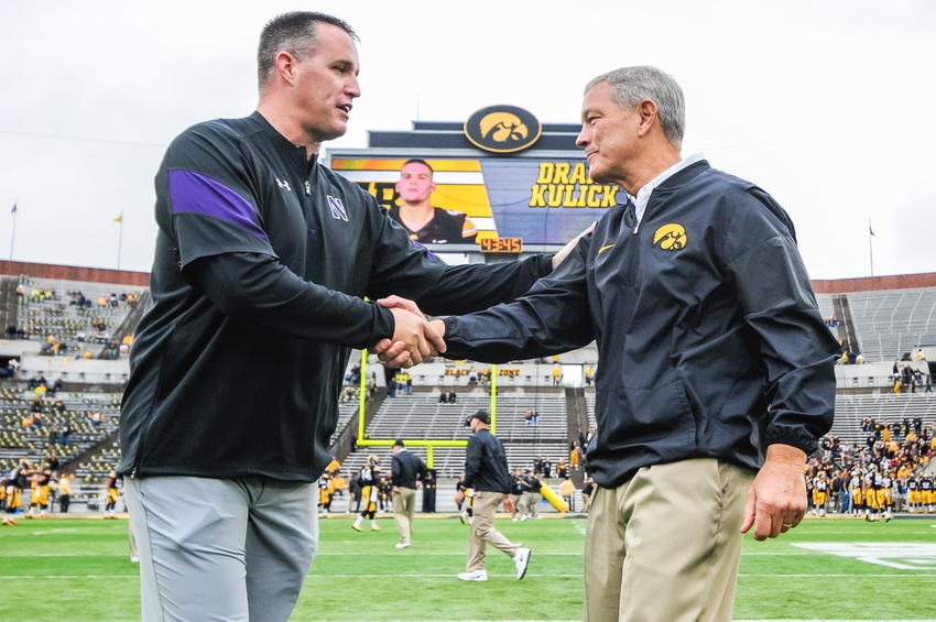 9580191-kirk-ferentz-pat-fitzgerald-ncaa-football-northwestern-iowa
