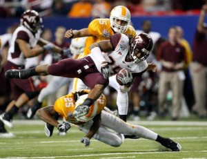 2009 Peach Bowl - Tennessee Volunteers and the Virginia Tech Hokies