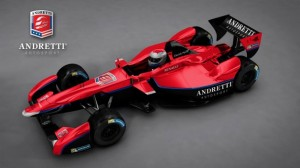 Andretti Autosport's Formula E entry. Photo courtesy of www.fiaformulae.com