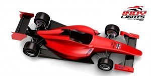 A rendering of the 2015 Indy Lights chassis, courtesy of Indy Lights Presented by Cooper Tires press release