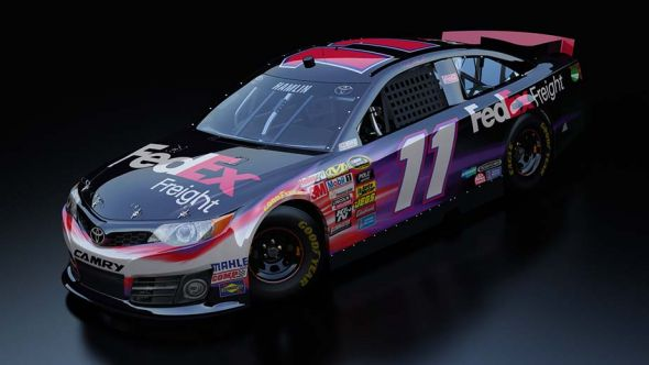 No. 11 Denny Hamlin (Courtesy of NASCAR.com)