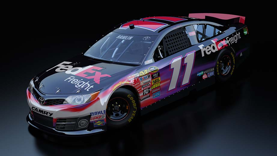 NASCAR: Sneak Peek At Special STP 500 Paint Schemes