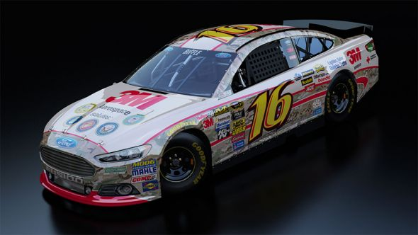 No. 16 Greg Biffle (Courtesy of NASCAR.com)
