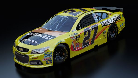 No. 27 Paul Menard (Courtesy of NASCAR.com)
