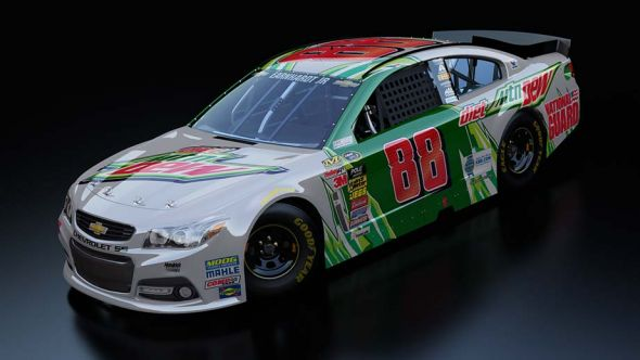 No. 88 Dale Earnhardt Jr (Courtesy of NASCAR.com)