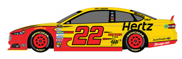 No. 22 Joey Logano (Courtesy of NASCAR.com)