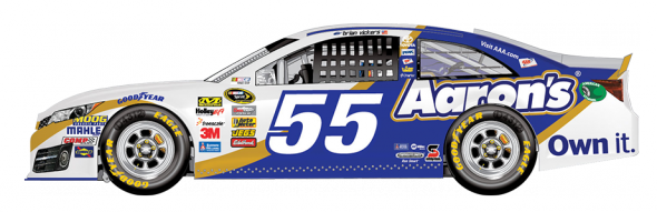 No. 55 Brian Vickers (Courtesy of NASCAR.com)