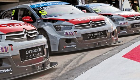 WTCC Marrakech 2014 Citroen Racing