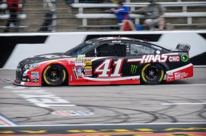 Sprint Cup Series driver Kurt Busch (41) car is sponsored by Gene Haas' Haas Automation. How long will that sponsorship continue now that Haas will be supporting an F1 team. Mandatory Credit: Jerome Miron-USA TODAY Sports