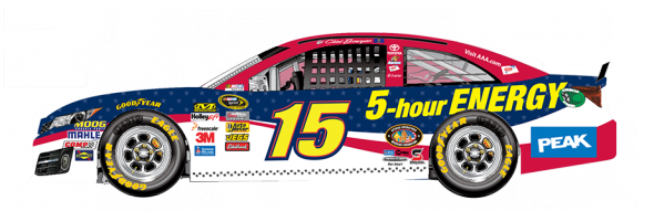 No. 15 Clint Bowyer (Courtesy of NASCAR.com)