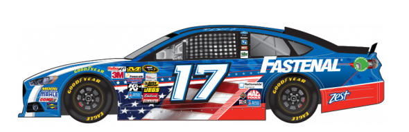 No. 17 Ricky Stenhouse Jr. (Courtesy of NASCAR.com)