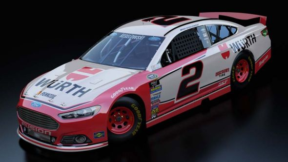 No. 2 Brad Keselowski (Courtesy of NASCAR.com)