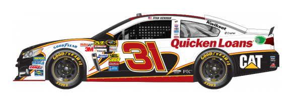 No. 31 Ryan Newman (Courtesy of NASCAR.com)