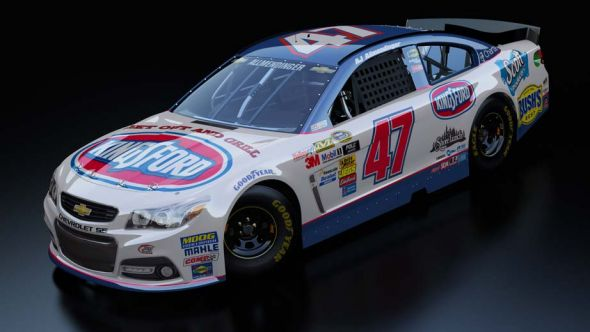 No. 47 AJ Allmendinger (Courtesy of NASCAR.com)