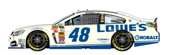 No. 48 Jimmie Johnson (Courtesy of NASCAR.com)