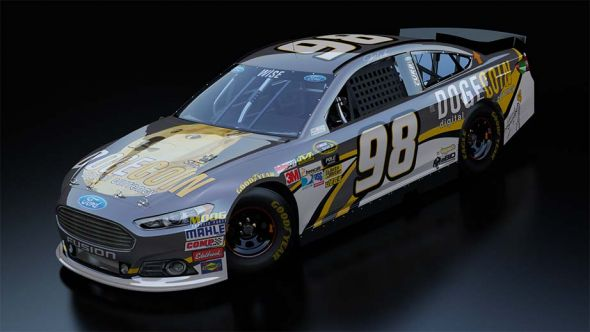 No. 98 Josh Wise (Courtesy of NASCAR.com)