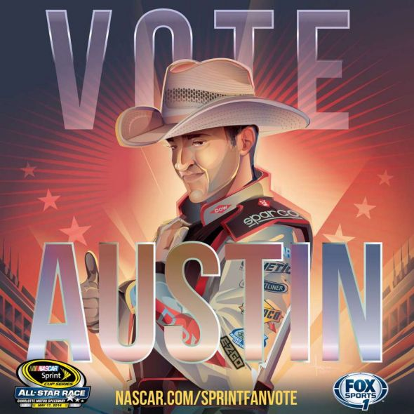 No. 3 Austin Dillon (Courtesy of FOXsports.com)