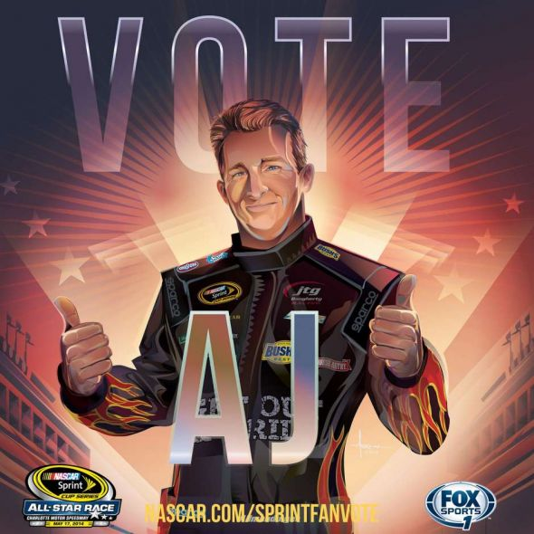 No. 47 AJ Allmendinger (Courtesy of FOXsports.com)