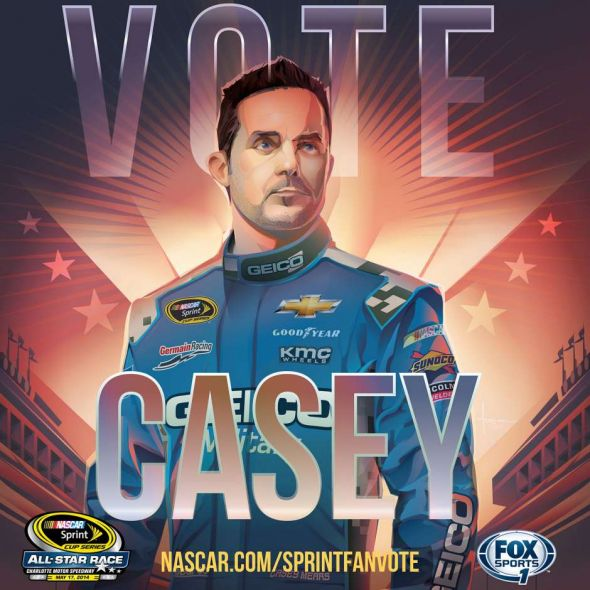 No. 13 Casey Mears (Courtesy of FOXsports.com)