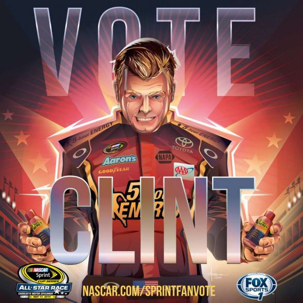 No. 15 Clint Bowyer (Courtesy of FOXsports.com)