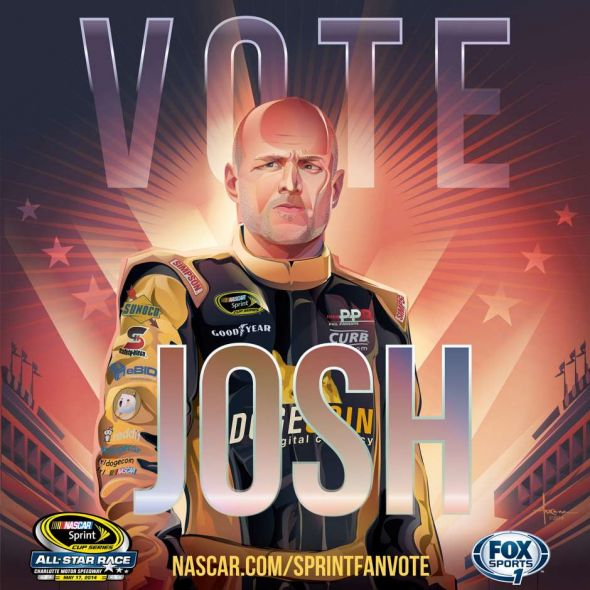 No. 98 Josh Wise (Courtesy of FOXsports.com)
