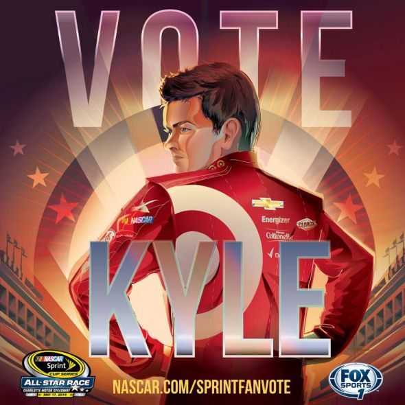 No. 42 Kyle Larson (Courtesy of FOXsports.com)