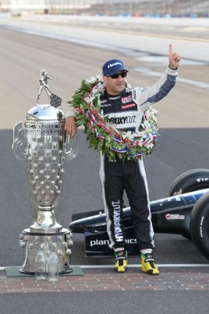 2013 Indy 500 winner Tony Kanaan