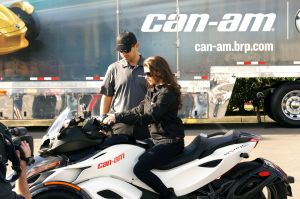 Courtesy of Can-Am Spyder