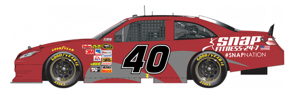 Landon Cassill (Courtesy of NASCAR.com)