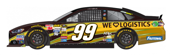 No. 99 Carl Edwards (Courtesy of NASCAR.com)