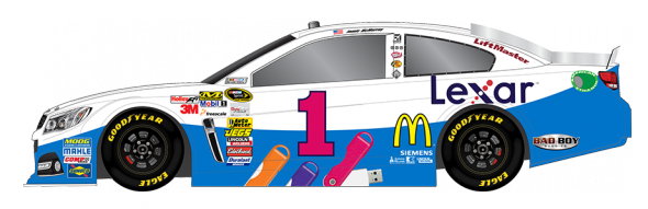 Jamie McMurray (Courtesy of NASCAR.com)
