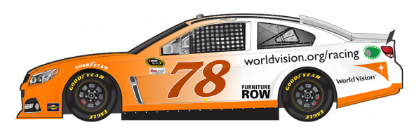 No. 78 Martin Truex Jr. (Courtesy of NASCAR.com)