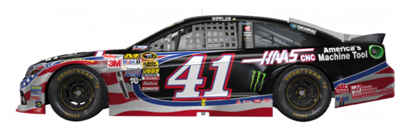 No. 41 Kurt Busch (Courtesy of NASCAR.com)