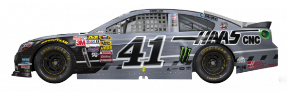 No. 41 Kurt Busch (Courtesy of NASCAR,com)