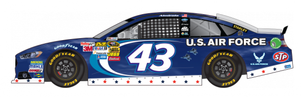 No. 43 Aric Almirola (Courtesy of NASCAR.com)
