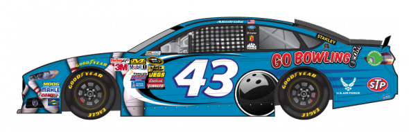 No. 43 Aric Almirola (Courtesy of NASCAR,com)