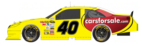 No. 40 Landon Cassill (Courtesy of NASCAR.com)