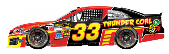 No. 33 David Stremme (Courtesy of NASCAR.com)