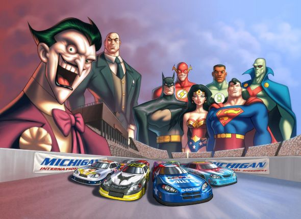 jla_nascar_promo_image_by_udoncrew