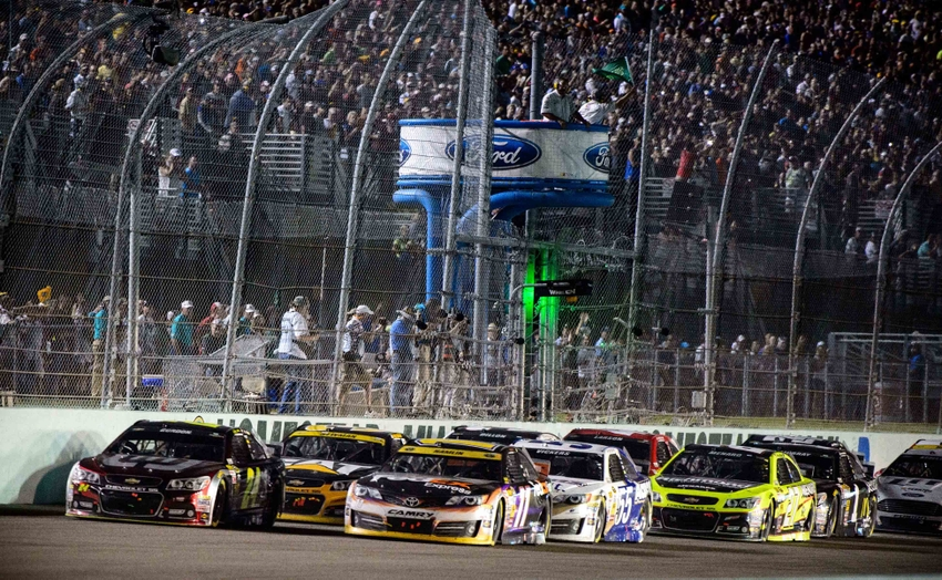 Power rankings the ford ecoboost 400 from homestead miami for Homestead motor speedway schedule