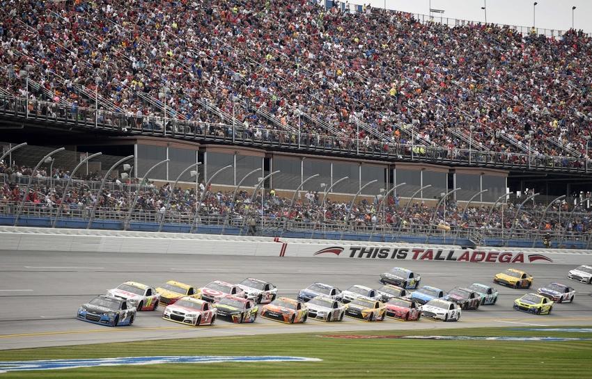 Oct 25, 2015; Talladega, AL, USA; Sprint Cup Series driver Kasey Kahne ...