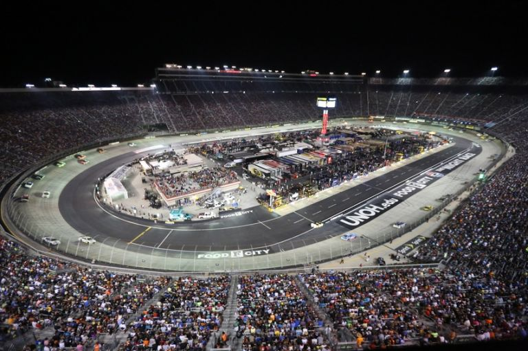 Nascar five drivers most likely to win at bristol for Nascar race tickets texas motor speedway