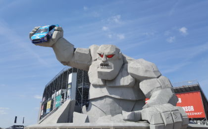 Miles the Monster was built right outside Dover Speedway. Photo Credit: Michael Guadalupe