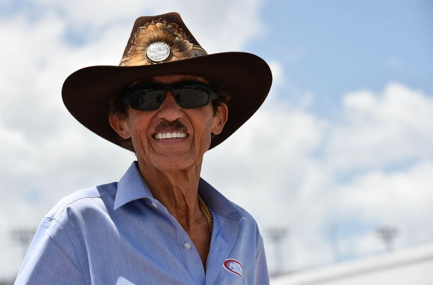 Jul 3, 2015; Daytona Beach, FL, USA; NASCAR Sprint Cup Series owner Richard Petty during practice for the Coke Zero 400 Powered By Coca-Cola at Daytona International Speedway. Mandatory Credit: Jasen Vinlove-USA TODAY Sports