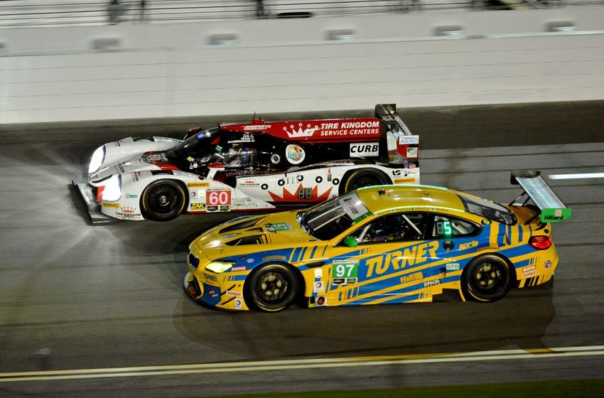 One of the few 24 hour races in the world, the Rolex 24 at Daytona attracts competitors from around the globe.