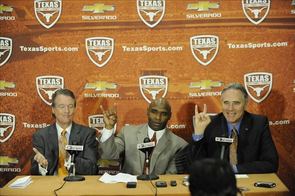 Steve Patterson hires Charlie Strong